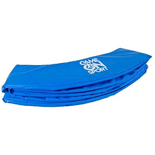 Game On Sport 396 - Cama elástica Infantil con Borde (396 cm), Color Azul