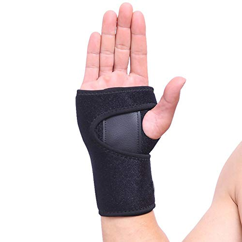 VITTO Muñequera Soporte Férula Muñeca Mano para la Artritis | Túnel Carpiano | Tendinitis (M, Izquierda)