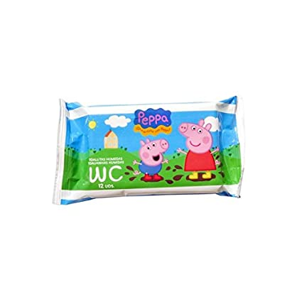 Toallitas Wc Junior 12 Uds Peppa Pig
