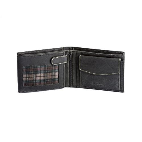 Genuine DuDu Cards Wallet Men Windows Leather In For Retro ID Black Vintage Save Coin Holder Closure SSRXqA