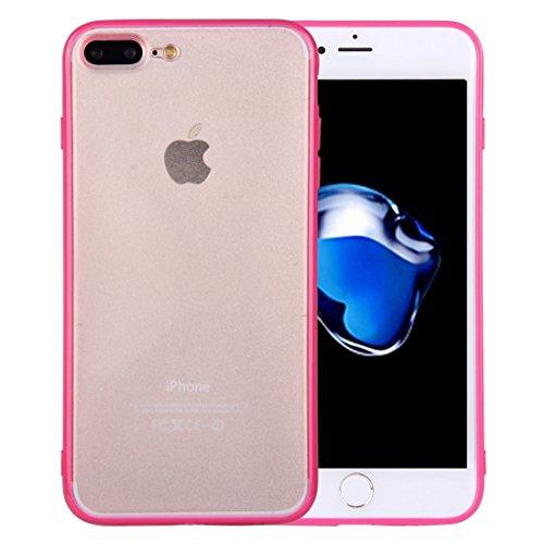 Mobile protection Para iPhone 7 Plus TPU + PC Caja protectora transparente ( SKU : Ip7p0897m ) Ip7p0897m