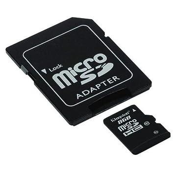 CABLEPELADO Adaptador de Tarjeta Micro SD a SD Negro