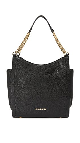 MICHAEL Michael Kors Women's Newbury Hobo Bag, Black, One Size by MICHAEL Michael Kors