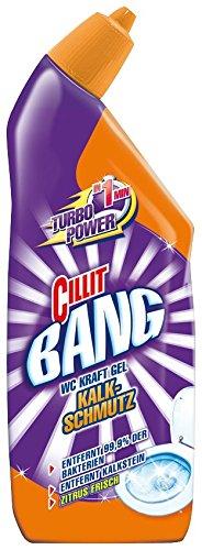 cilit Bang WC limpiador Fuerza Gel cal de suciedad, (3 unidades x 750 ml