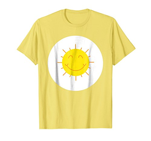 Mens Yellow Sun Halloween Easy Costume T-Shirt 2XL Lemon