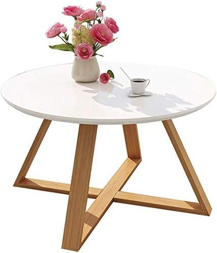 WYJW - Mono simple redondo, mini mesa baja, salón de personalidad ...