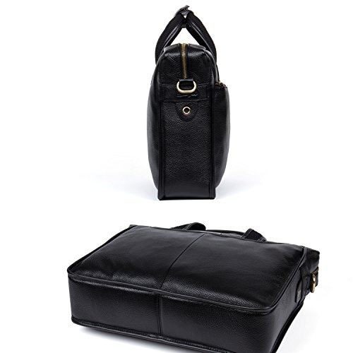 30987749e8ff DANJUE Man Business Briefcase Bag Nice Structure Satchel Leather ...