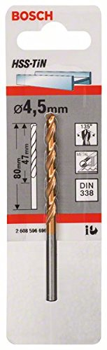 Bosch 2608596696 Tin-Metal Drill Bit 4 5x47mm