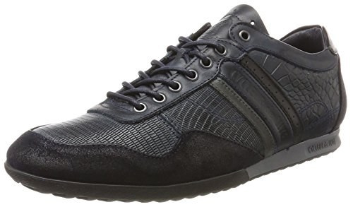 Cycleur de luxe Herren Crash Sneaker Blau (Navy / ANTRACITE / Black)