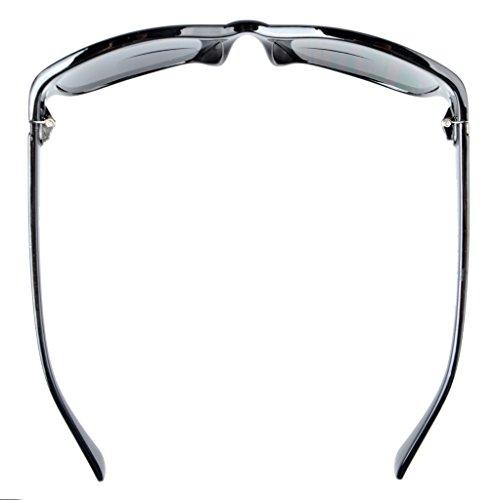 1 Bifocales lente Lente Eyekepper Gafas de 75 Clásico gris Marco gris sol Negro n0OxqwgTB