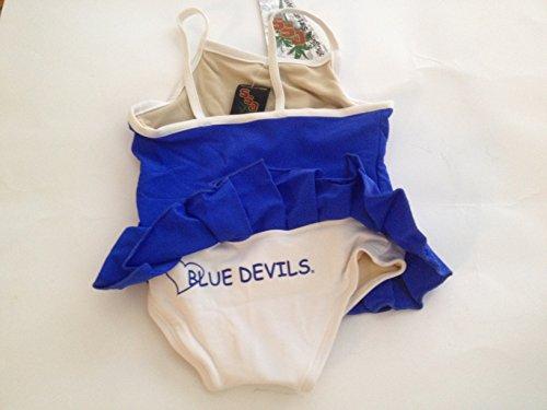 Duke Blue Devils Toddler Girls 1-Piece Swimsuit - Cheerleader in