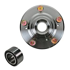 Amazon.com: Front Wheel Hub & Bearing for Honda Acura ...