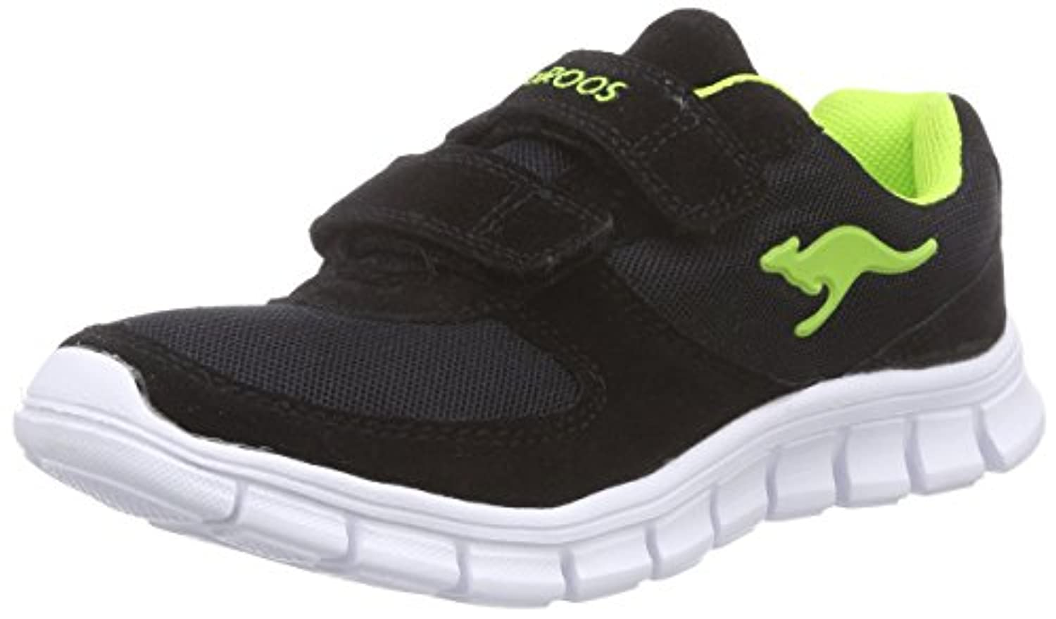 KangaROOS Boys' BlueKids 2082 Low-Top Trainer Black 1 UK (33 EU)