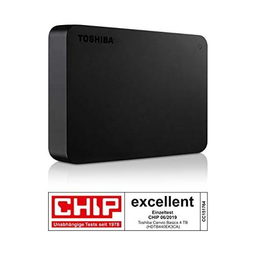 chollos oferta descuentos barato Toshiba Canvio Basics Disco duro externo 2 5 pulgadas 6 4 cm Negro 4 TB