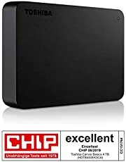 """Toshiba 2.5"""" 4TB Canvio Basic Usb 3.0 Taşınabilir Disk"""