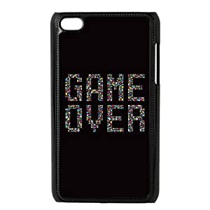 DIY High Quality Case for Ipod Touch 4, Game Over Phone Case - HL-512266
