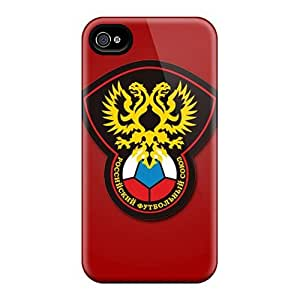 ConnieJCole ULYzMxg5923SogMt Case Cover Skin For Iphone 4/4s (russia Football Logo)