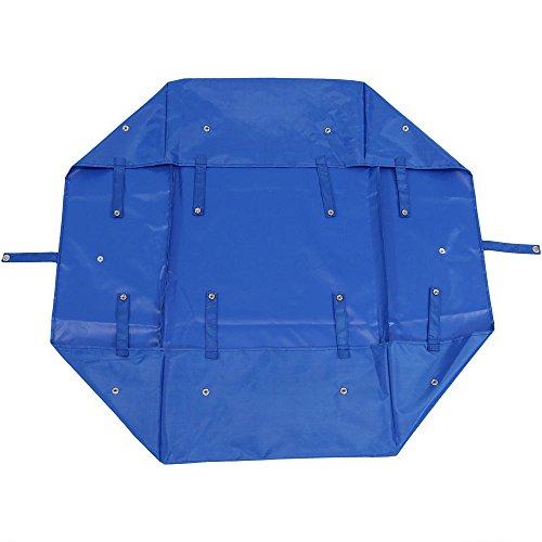 Sunnydaze Liner for Garden Utility Cart, Heavy-Duty Polyester, Blue, Liner ONLY