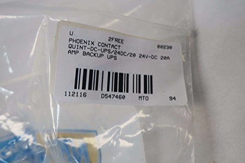 PHOENIX CONTACT QUINT-DC-UPS/24DC/20 2866239 24V-DC 20A UPS