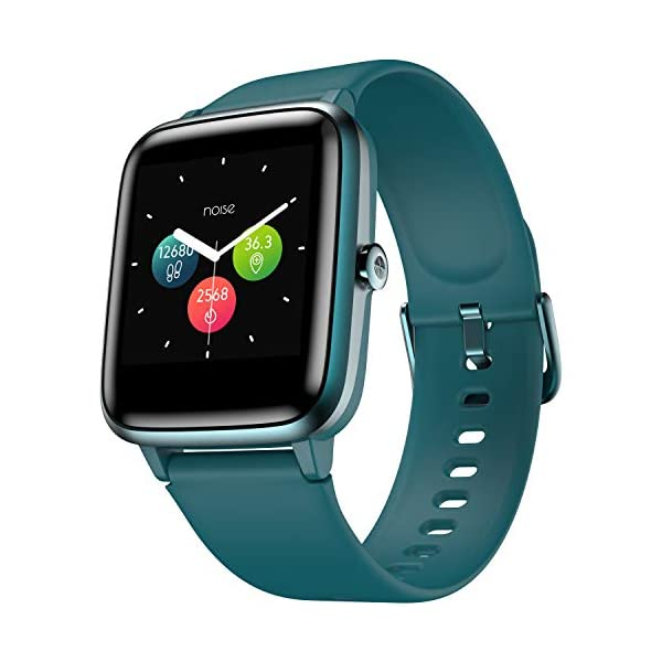 41gyA2FZFiL Noise Colorfit Pro 2 Full Touch Control Smart Watch (Teal Green)