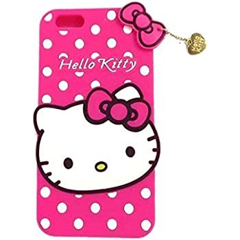 Amazon.com: 3D Hello Kitty Soft Silicone Protector Case Gel ...