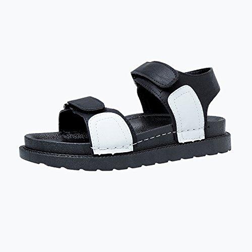 zapatillas estilo estudiantes playa plano mujeres fondo grueso sandalias sandalias de de inferior y Thirty ocio de gran de tamaño nuevo embarazadas Las eight dqXC7d