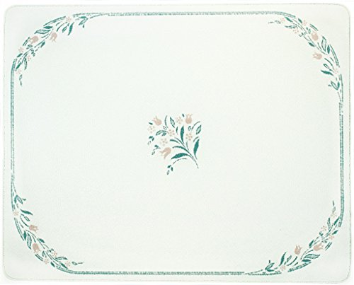 Corelle Rosemarie - Corelle Rosemarie 20 X 16 inch Counter Saver Tempered Glass Cutting Board, 92016ROSH