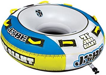 Jobe Giant 3P - Flotador de arrastre, color amarillo