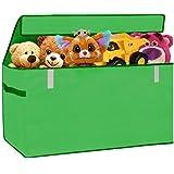 XXL Toy Chest Organizer Flip-Top LID Jumbo Toys Organizer...