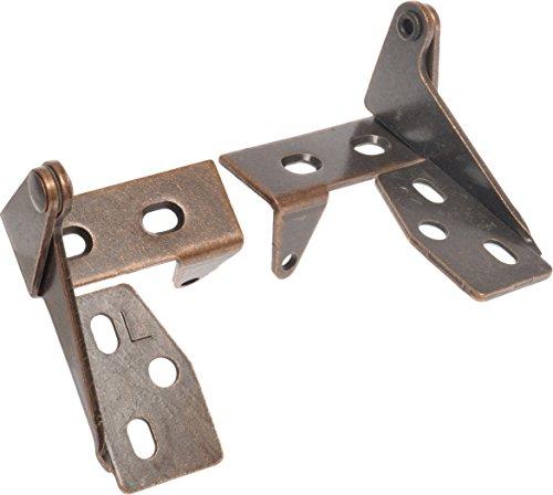 (Hillman 59279 Bronze Top & Bottom Pivot Hinge with Tab, 1-Pair)