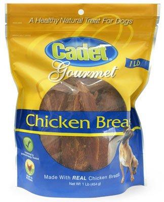 Cadet 01306 14 oz Chicken Breast Healthy Natural Dog Treats - Quantity 11