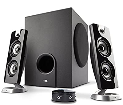 Cyber Acoustics 30 Watt Powered Speakers with Subwoofer for PC and Gaming Systems