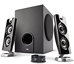 Cyber Acoustics Ca-3602a 62w Desktop Computer Speaker With Subwoofer - Perfect 2.1 Gaming & Multimedia Pc Speakers