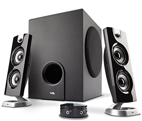 Cyber Acoustics CA-3602 30 W 2.1 Channel Speakers