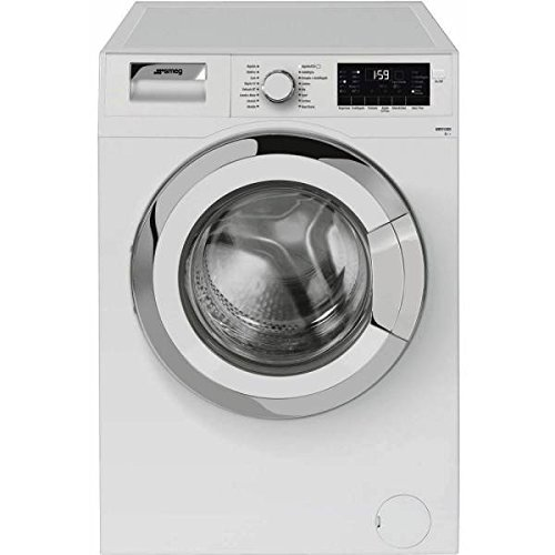 Smeg WHT912EES Independiente Carga frontal 9kg 1200RPM A++ Blanco - Lavadora (Independiente, Carga frontal, Blanco, Giratorio, Izquierda, LED)