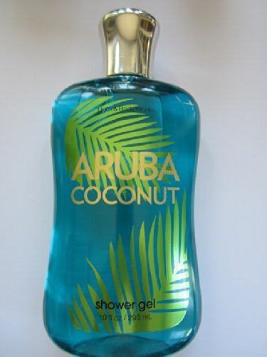 Bath and Body Works Escape Collection Aruba Coconut 10 Oz Shower Gel