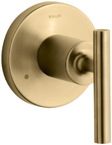 KOHLER K-T14491-4-BGD Purist Transfer Valve Trim with Lever Handle, Valve Not Included, Vibrant Moderne Brushed Gold ()
