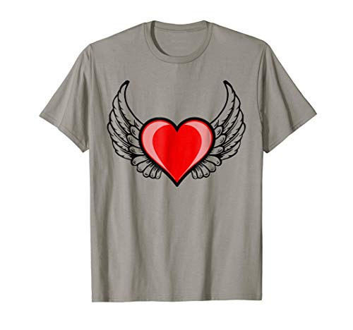 (Flying Winged Heart T Shirt)