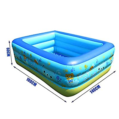 Kitcheb Pools of Kids Inflatable Swimming Pool Safe Interesting Underwater Pool Toy Indoor Outdoor Summer Party Supplies: Home & Kitchen