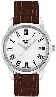 Tissot T0334101601301 T033.410.16.013.01 - Reloj para hombres, correa de cuero color
