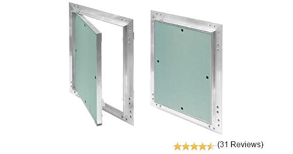 Tapa para revisión GK de 300x300 mm yeso 12,5 mm kral10 pladur Revisión Mantenimiento Puerta 30x30 cm Mantenimiento Tapa de limpieza Mantenimiento Apertura, marco de aluminio Verde menta en seco: Amazon.es: Bricolaje