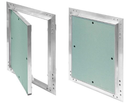 Plasterboard Access Panels 225mm x 300mm with Aluminium Frame Inspection Hatch Revision Door KRAL5 Armar Trading LTD