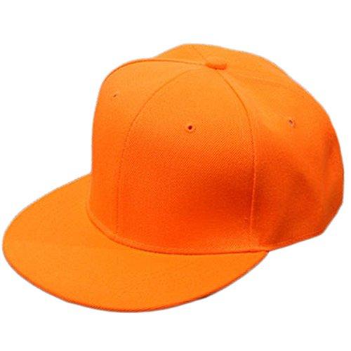 59 cm 55 hombre de para Leisial Gorra naranja Naranja béisbol vw8awRxqU