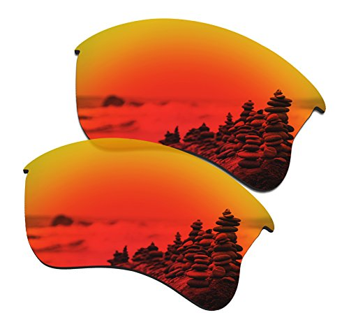 5982100efb4 SmartVLT Set of 5 Men s Replacement Lenses for Oakley Flak Jacket XLJ  Sunglass Combo Pack S02