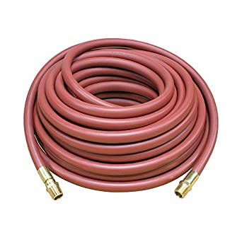3//8 x 50 1//4 x 1//2 NPTF Reelcraft S601017-50 Low Pressure Air//Water Hose Assembly M PVC Nylon 300 Psi 0.6 OD