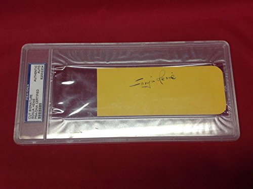 Sonja Henie signed Cut Slabbed #82002204 - PSA/DNA Certified - Olympic Cut Signatures