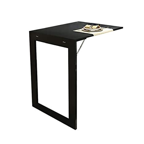 Amazon.com: Mmdp Mesa de bar plegable simple mesa de comedor ...