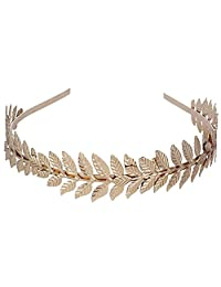 Happy Hours - Delicate Elegant Women European Style Leaves Headbands / Branch Dainty Bridal Hair Crown / Plating Bohemia Style Head Dress / Hair Band For Wedding,Engagement,Banquet,Prom(Gold)