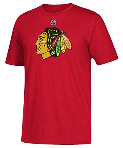 Corey Crawford Chicago Blackhawks Adidas NHL Men's Red Player T-Shirt
