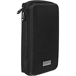 Amazon Basics Universal Travel Case Organizer for Small Electronics and Accessories, Black